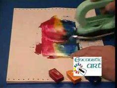▶ Encaustic Art in a nutshel - What is creative wax art? - YouTube