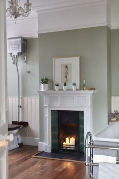 Real home: a renovated Victorian semi-detached home : Victorian decor ideas – Victorian living room colours and inspiration for a victorian home including victorian home decor, victorian living room decor traditional styles and victorian house ideas. Victorian Terrace Interior, Victorian House Interiors, Victorian Living Room, Victorian Home Decor, Victorian Fireplace, Victorian Homes, Victorian Architecture, Modern Victorian Bedroom, Victorian Era