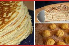 """Tort """"Ion și Maria"""" - un desert deosebit, cu blat fraged, bezea și cremă fină! Delicios de te lingi pe degete! - Bucatarul Pancakes, Deserts, Breakfast, Ethnic Recipes, Food, Bakken, Morning Coffee, Essen, Pancake"""