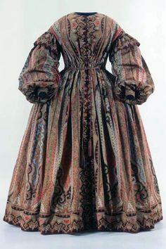 Wrapper, 1850's From the Swiss National Museum