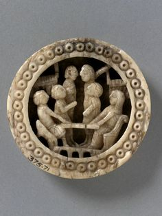 Gaming Piece/Tableman, early 12c, V & A