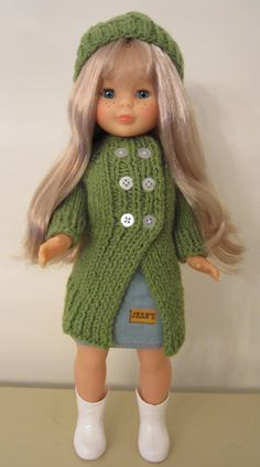 Comfort Cardigan for Nancy Doll
