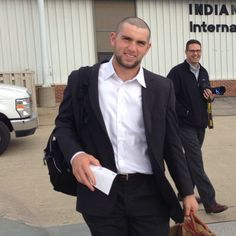 Andrew Luck Is Now #ChuckStrong