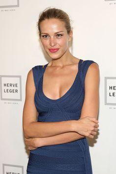 Petra Nemcova - Herve Leger By Max Azria - Backstage - Mercedes-Benz Fashion Week Spring 2014