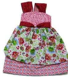 Tutorial: Dainty Floral Dress for little girls | Sewing | CraftGossip.com