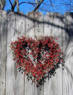 Valentine Day Wreath Old Fashion Valentine