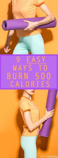 When you think about burning calories, let me guess what pops into your head. Sweating your butt off at the gym lifting weights or going on such an intense run you can't even breath anymore. Well, good news you guys! Those may be the most intense and extreme ways, but there are so many other easy ways to burn calories!