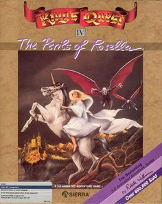 King's Quest IV - The Perils of Rosella Atari disk scan
