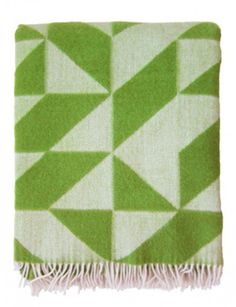 They come in every colour of the rainbow - Twist A Twill Wool Throw