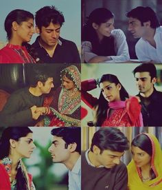 zaroon and kashaf.....lovely couple...brought alive the whole story...made it look extremely realistic