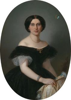 Leonie, Baroness von Kellersperg, neé Countess and Mistress zu Schärffenberg (1838-1899), 1863 | In the Swan's Shadow