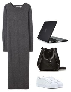"""Working from home and errands"" by laurawoods ❤ liked on Polyvore featuring Speck, David Jones, adidas, Rachael Ruddick, women's clothing, women's fashion, women, female, woman and misses"