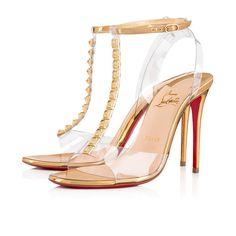 368816ff7b6 Jamais Assez 100 Version Gold Specchio - Women Shoes - Christian Louboutin