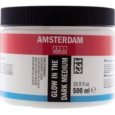 Gezien op beslist.nl: Amsterdam Glow In The Dark Medium 500Ml