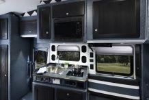 Bolt 150in sleeper Peterbilt 579 kitchen 0708