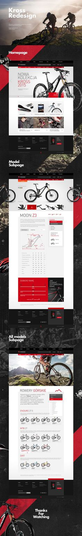 Kross Redesign. #webdesign #it #web #design #animation #layout #userinterface #website #webdesign