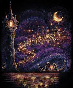 Lanterns of Hope Disney Phone Wallpaper, Cartoon Wallpaper, Tangled Wallpaper, Arte Disney, Disney Art, Disney Drawings, Art Drawings, Disney Paintings, Disney Background
