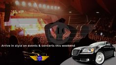 Book a #Limo & Arrive in Style On #Event & #Concert this weekend  Call us & book your #limo now - 1-800-279-6062