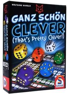 That's Pretty Clever (Ganz Schön Clever) by Schmidt Spiele – Varietats Games For Kids, Games To Play, Board Games, Game Of Thrones, Have Fun, Nice Asses, Games For Children, Table Games, Tabletop Games