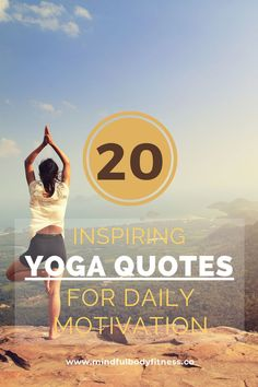 Sometimes it can be hard to motivate yourself to practice yoga. And when that's the case, I find that reading over some of my favorite spiritual yoga quotes is just the thing to motivate me. How To Start Yoga, Learn Yoga, Practice Yoga, Meditation Techniques For Beginners, Yoga Poses For Beginners, Asheville Yoga, Fitness Models, Yoga For Runners, Yoga For Balance