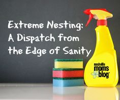 Extreme Nesting: A Dispatch from the Edge of Sanity   Nashville Moms Blog