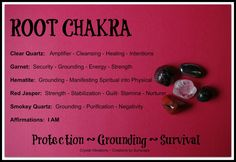 The Root Chakra and You.  A simplified article on getting to know your Root Chakra through the physical, mental, emotional and spiritual aspects of the body.  Your body is always sending signals to let you know your internal state of being.  Understanding the  major Chakra centers and how they are linked to this internal guidance system is quite beneficial.