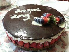 Cheese cake mascarpone, fragole e cioccolato bianco