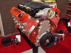 The Chevrolet Performance LSX376 Crate Engine #SEMAShow