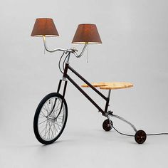 BERLIN-RE-CYLING: bicycle parts lighting by StW-design – upcycleDZINE