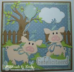Handmade by Linda: Feestvarkentjes !!!