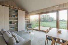 Garden Buildings Warmington / Ashworth Parkes Architects – nowoczesna STODOŁA | wnętrza & DESIGN | projekty DOMÓW | dom STODOŁA