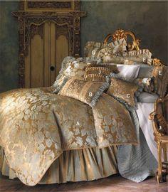 Isabella Luxury Bedding & Linens at LuxuryBedding.com