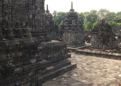 Sewu Temple @ Central Java Indonesia. - an 8th-century Mahayana Buddhist temple -   --   - 'I do love these ancient ruins. We never tread upon them but we set Our foot upon some reverend history.' - John Webster