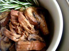 Leftovers: Mushroom Gravy Slow Cooked Rump Roast | PaleOMG - Paleo Recipe