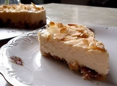 Almond Cheesecake #showstopper - User Submitted - Desserts - Recipes