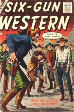 Six-Gun Western (Volume) - Comic Vine