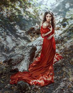 Lady in Red by Irina Dzhul - Photo 138612877 - 500px