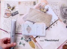 "Pop up planner in ""fairy steampunk"" style"