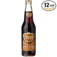 Always a fan, always a Faygo. In glass bottles, even better.  Root beer? Yes please. (pack of 12)