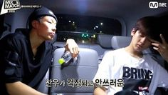 Bobby shows concern over the health of fellow 'MIX & MATCH' trainee Jung Chan Woo | http://www.allkpop.com/article/2014/10/bobby-shows-concern-over-the-health-of-fellow-mix-match-trainee-jung-chan-woo