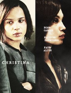 i am so sorry christina i could never live without pretty much all my best friends #divergent