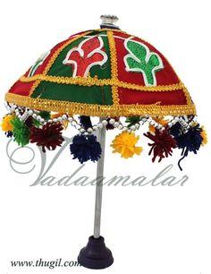 Thugil Online store Umbrella Hindu Idol Deity Altar Ganesha Pillayar Decorations Buy Online Traditional treasure trove