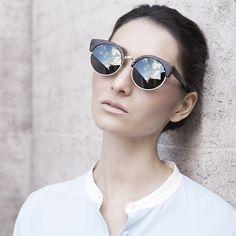 Finlay & Co wooden Thurloe Ebony Sunglasses