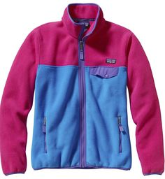 Patagonia W's Full-Zip Snap-T Jkt Giacca in pile donna, Fuxia