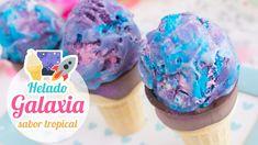 ♡ Vídeo paso a paso para hacer un helado galaxia súper cremoso y sin máquina heladera. Yo lo he hecho utilizando sabores tropicales. Pero vosotros lo podéis ...