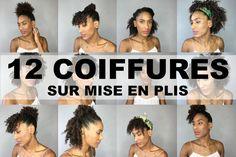 12 Coiffures Simples et Rapides Sur Cheveux Bouclés / Afro (Flexi-rods)