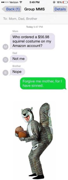 I have sinned: | 28 Texts From 2014 That Will Make You Laugh Every Time