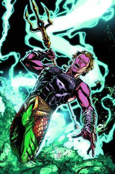Aquaman #41 by Trevor McCarthy *