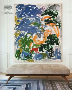 diamond baratta, painting: joan mitchell