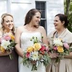 Sweet Deets Events - Rustic & Colorful Bouquets by Phoenix Botanica - Photo by Adeline & Grace Photography